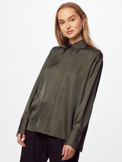 InWear Bluse 'PaulineI' in oliv, Modelansicht