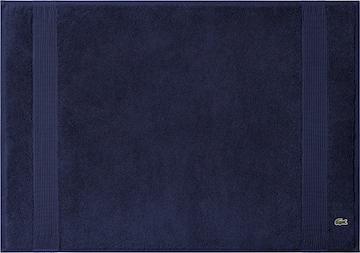 LACOSTE Bathmat 'LE CROCO' in Blue