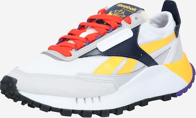 Reebok Classics Sneaker 'Legacy' in dunkelblau / gelb / hellgrau / melone / weiß, Produktansicht