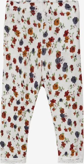 NAME IT Leggings 'Wang' in mischfarben / naturweiß, Produktansicht
