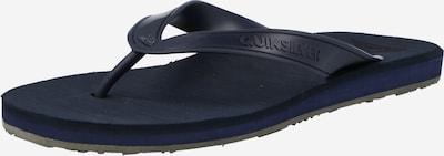 QUIKSILVER Žabky 'CARVER II DELUXE' - námornícka modrá, Produkt