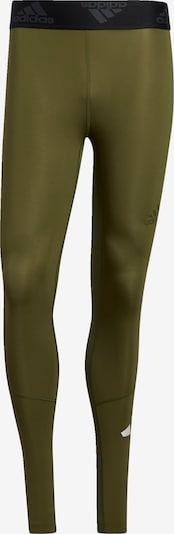 ADIDAS PERFORMANCE Sportovní kalhoty - khaki / černá / bílá, Produkt