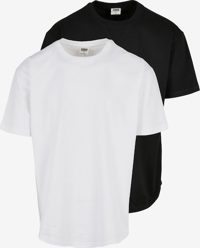 Urban Classics Μπλουζάκι σε μαύρο / λευκό, Άποψη προϊόντος