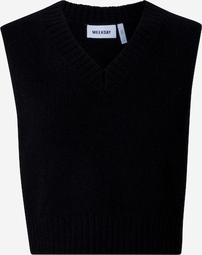 WEEKDAY Pullover 'Windy' in schwarz, Produktansicht