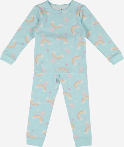 Cotton On Schlafanzug 'Florence' in hellblau / mischfarben, Produktansicht