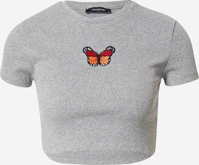 Trendyol T-Shirt in graumeliert / mischfarben, Produktansicht
