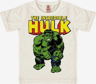 LOGOSHIRT Shirt 'The Incredible Hulk' in weiß, Produktansicht