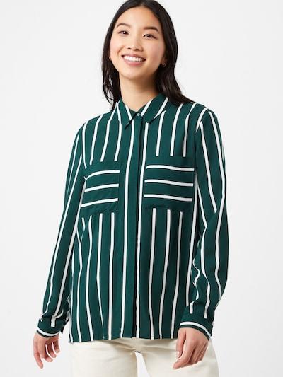 ONLY Pusero 'VINNIE' värissä meleerattu vihreä / valkoinen, Mallinäkymä