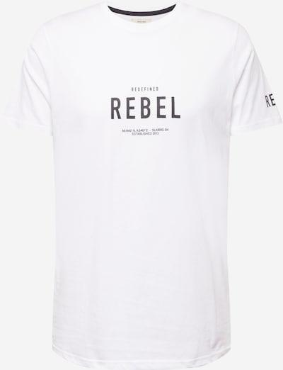 Redefined Rebel T-Shirt 'Ronan' in schwarz / weiß, Produktansicht