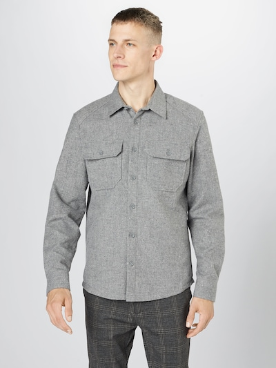 DRYKORN Koszula w kolorze nakrapiany szarym, Podgląd na modelu(-ce)