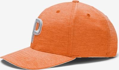 PUMA Sportmuts in de kleur Grijs / Sinaasappel, Productweergave