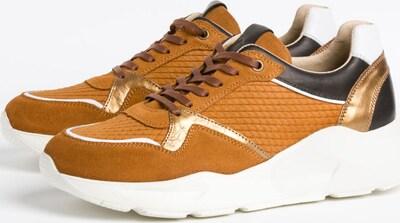 BRAX Sneaker 'ANA' in safran / gold / schwarz, Produktansicht