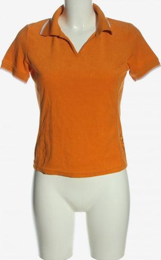 FIRE & ICE Polo-Shirt in M in hellorange / weiß, Produktansicht