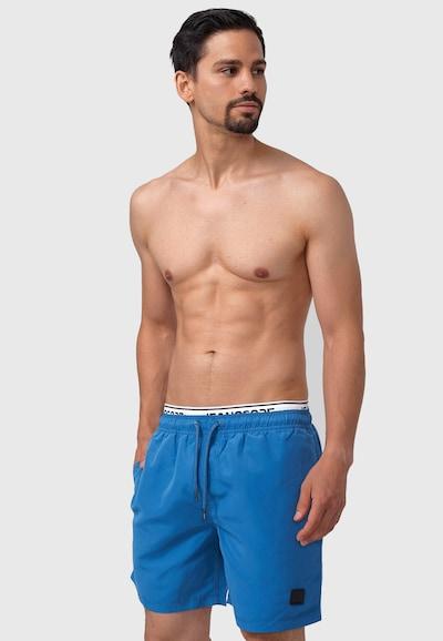 INDICODE JEANS Zwemshorts in de kleur Blauw, Productweergave