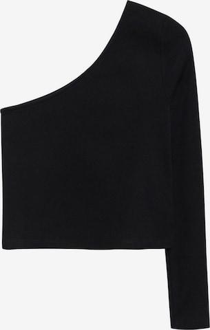 MANGO TEEN Shirt 'PAULA' in Schwarz