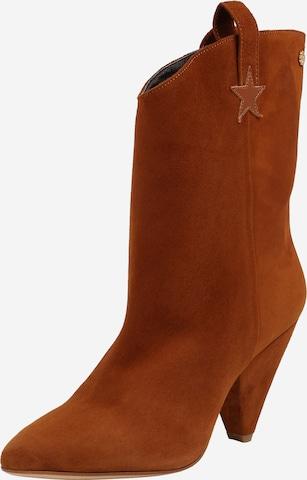 Ankle boots 'Josefin' di Fabienne Chapot in marrone