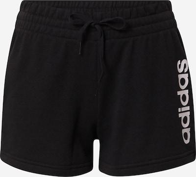 ADIDAS PERFORMANCE Sportsbukser i sort / hvid, Produktvisning
