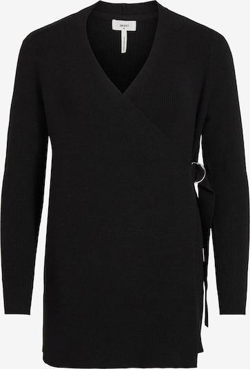 OBJECT Strickjacke 'Fae' in schwarz, Produktansicht