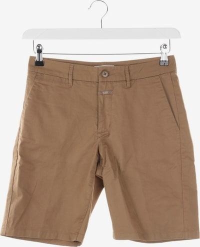 Closed Shorts in XXS in braun, Produktansicht