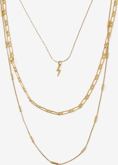 Orelia Necklace 'Lightning' in gold, Item view