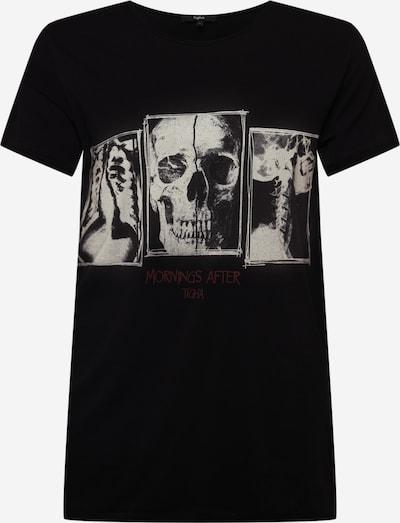 tigha Shirt 'Threesome Wren' in grau / schwarz, Produktansicht