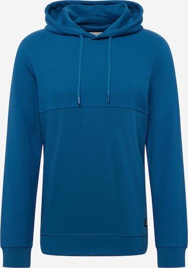 Bluză de molton TOM TAILOR DENIM pe albastru, Vizualizare produs
