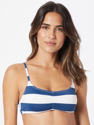 kék / fehér Cotton On Body Bikini felső, Modell nézet