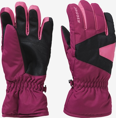ZIENER Sporthandschuhe 'MT-21' in lila / pink / schwarz, Produktansicht