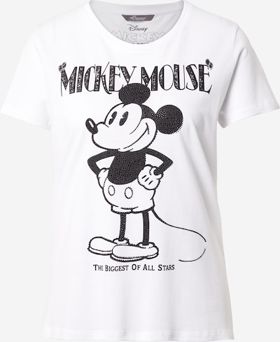 PRINCESS GOES HOLLYWOOD Shirt 'Mickey the biggest' in weiß, Produktansicht