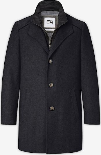 S4 Jackets Wollmantel in dunkelblau, Produktansicht