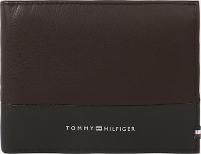 TOMMY HILFIGER Peněženka - tmavě hnědá / stříbrná, Produkt