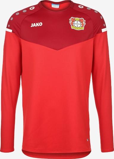 JAKO Sweatshirt 'Bayern 04 Leverkusen ' in blutrot / karminrot / orangerot / feuerrot / hellrot / dunkelrot, Produktansicht