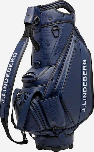 J.Lindeberg Sac de sport en bleu marine / noir / blanc, Vue avec produit