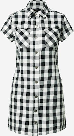 Afends Robe-chemise 'Piper' en noir / blanc, Vue avec produit