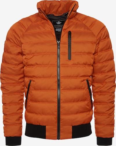 Superdry Winterjas in de kleur Donkeroranje / Zwart, Productweergave