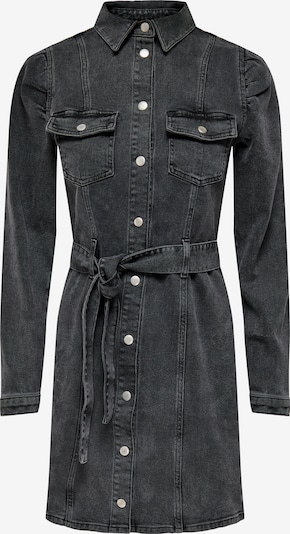 ONLY Kleid 'Monica' in black denim, Produktansicht