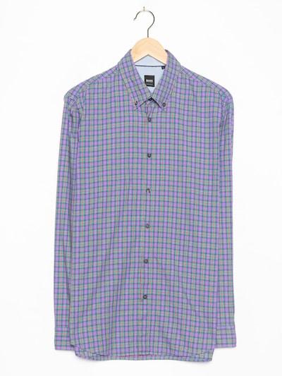 HUGO BOSS Hemd in L in lila, Produktansicht