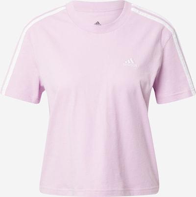 ADIDAS PERFORMANCE T-shirt fonctionnel en violet clair / blanc, Vue avec produit