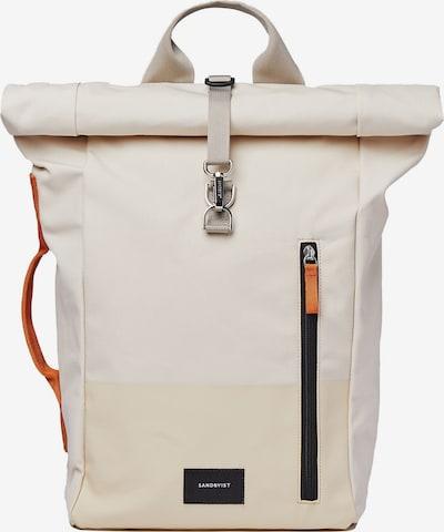 Zaino 'Dante' SANDQVIST di colore beige / arancione / nero, Visualizzazione prodotti