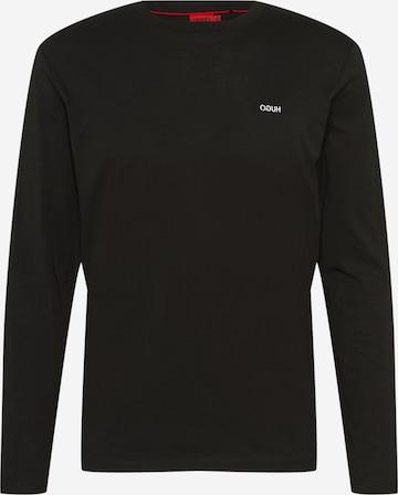 Maglietta 'Derol' di HUGO in nero