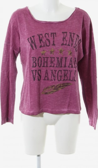 Staff Jeans & Co Longsleeve in S in gold / pink / schwarz, Produktansicht