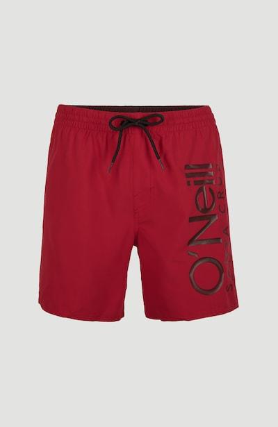 O'NEILL Šortky - tmavě hnědá / červená, Produkt