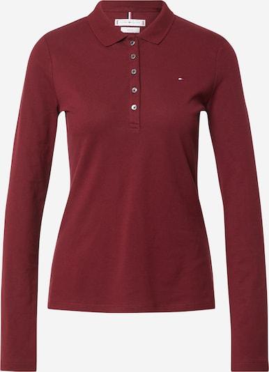 TOMMY HILFIGER Shirt in navy / karminrot / hellrot / weiß, Produktansicht