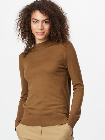 Marc O'Polo Sweater in Brown, View model