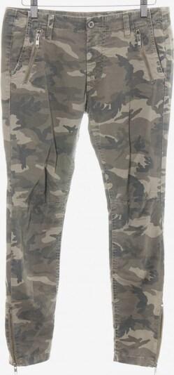 Please Now Slim Jeans in 25 in braun / khaki / wollweiß, Produktansicht