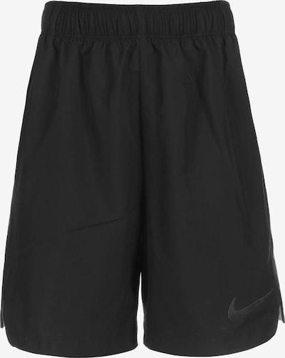 NIKE Sporthose 'Instacool' in hellgelb / schwarz / weiß, Produktansicht