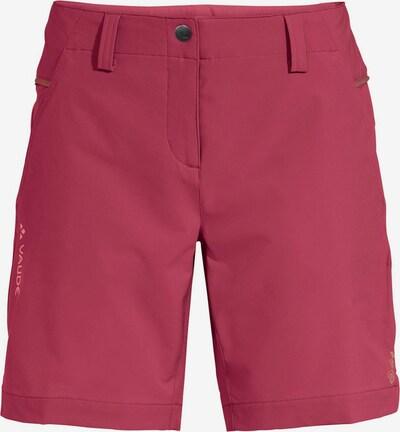 VAUDE Outdoorbroek in de kleur Pastelrood, Productweergave