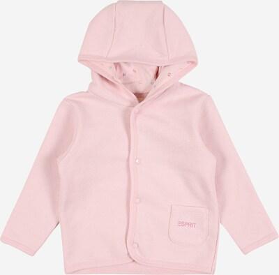 ESPRIT Sweatjacke in rosa, Produktansicht