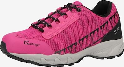 Kastinger Baskets basses en rose / noir, Vue avec produit