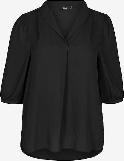 Zizzi Bluse 'Xseli' in schwarz, Produktansicht